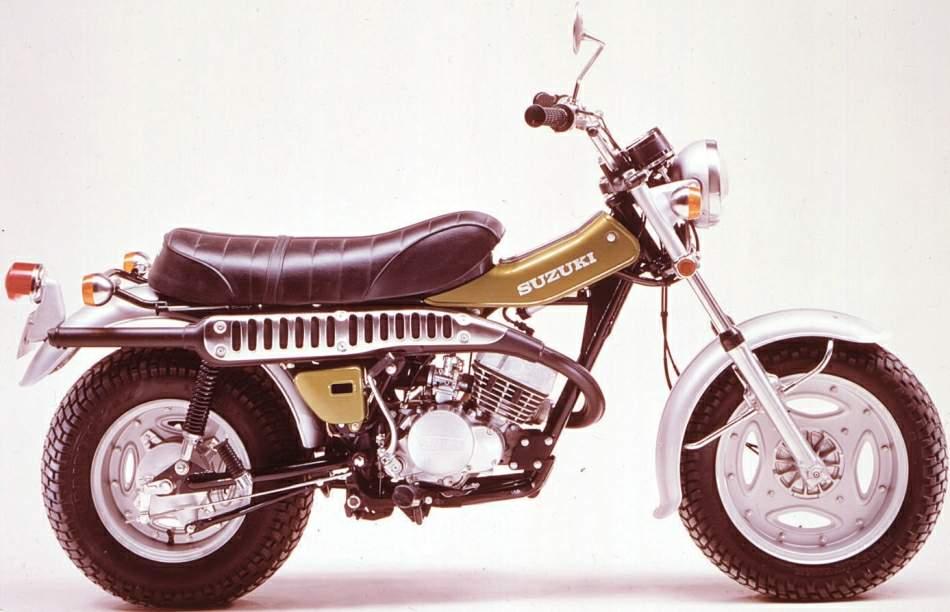 Suzuki RV 125 technical specifications